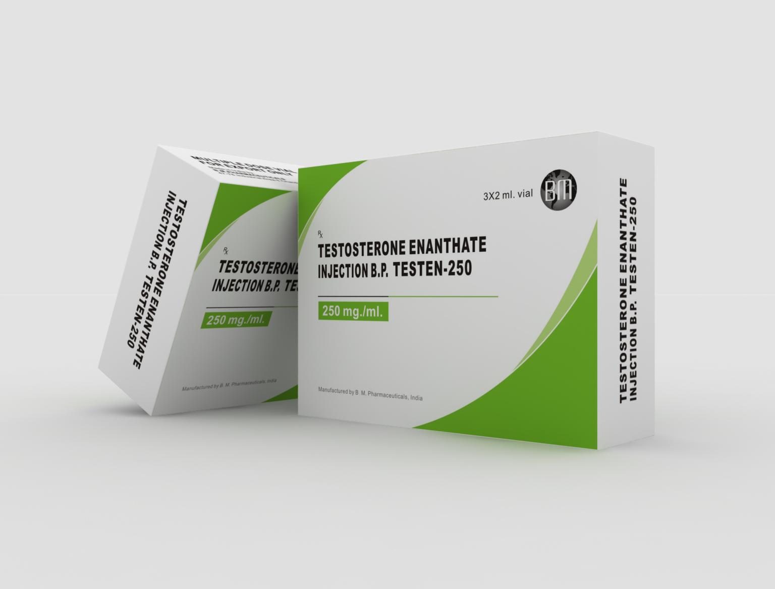 Testen-250 B.M. Pharmaceuticals